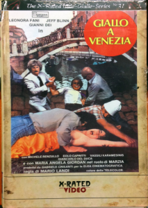 GIALLO A VENEZIA Big Box (dvd + Blu-Ray)