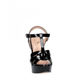 Vera Miller sandalo vernice nera-3