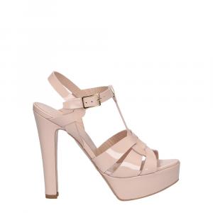 Vera Miller sandalo vernice rosa cipria-1