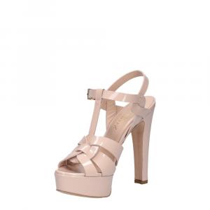 Vera Miller sandalo vernice rosa cipria-3