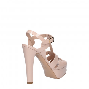 Vera Miller sandalo vernice rosa cipria-5
