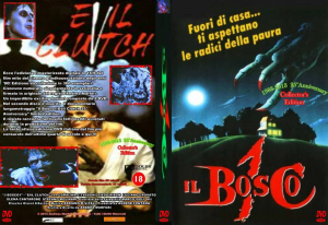 IL BOSCO 1 - Evil Clutch (2 Dvd Collector edition numerata e autografata)
