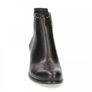 Il Laccio Beatles 314-F87 pelle nera borchie-1