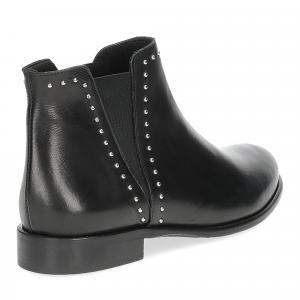 Il Laccio Beatles 518-ST1B pelle nera borchie-5