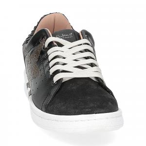 Nira Rubens daiquiri DAST160 sneaker nera stella boa black glitter-2