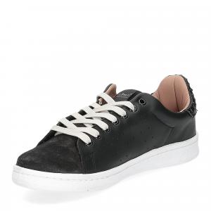 Nira Rubens daiquiri DAST160 sneaker nera stella boa black glitter-4