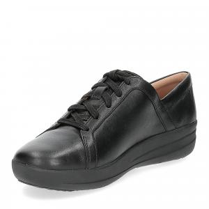 Fitflop F-Sporty II lace up sneaker pelle nera-3