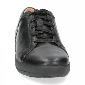 Fitflop F-Sporty II lace up sneaker pelle nera-4