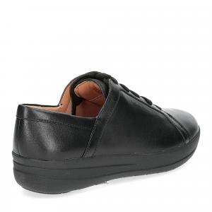 Fitflop F-Sporty II lace up sneaker pelle nera-5