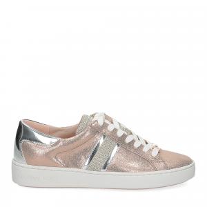 Michael Korskeaton stripe sneaker leather rose gold-2