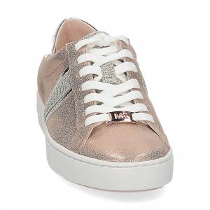 Michael Korskeaton stripe sneaker leather rose gold-3