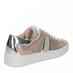 Michael Korskeaton stripe sneaker leather rose gold-5