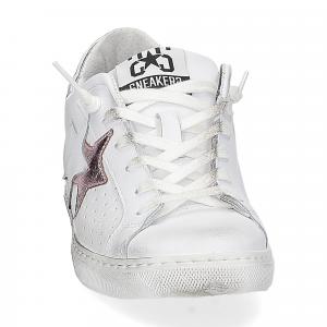 2Star 2600 sneaker low bianco rosa-3
