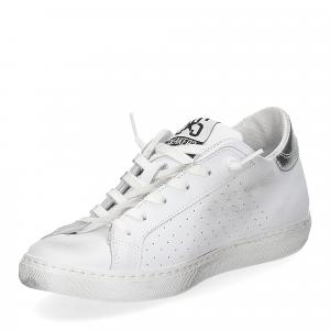 2Star 2600 sneaker low bianco rosa-4