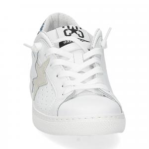 2Star 2611 sneaker low bianco celeste-3