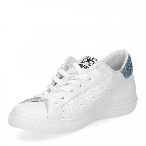 2Star 2611 sneaker low bianco celeste-4