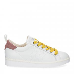 Panchic P01W leather white brownrose taxi-2