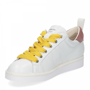 Panchic P01W leather white brownrose taxi-4