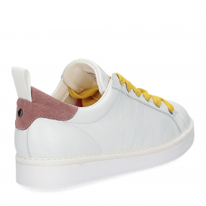 Panchic P01W leather white brownrose taxi-5