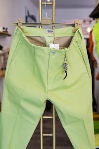 Pantalone verde acido Ribbon