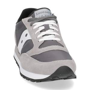 Saucony Jazz Original dark grey white-3