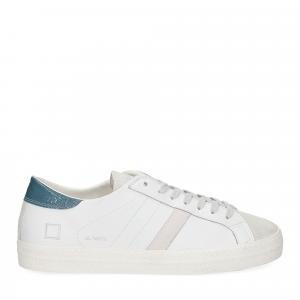 D.A.T.E. Hill low vintage calf white blue-2