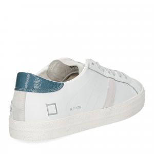 D.A.T.E. Hill low vintage calf white blue-5