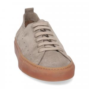 Griffi's sneaker 1097 camoscio taupe-3
