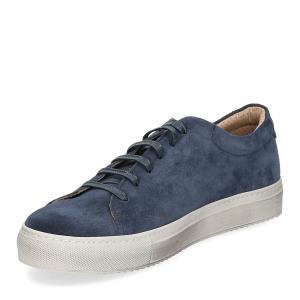 Griffi's sneaker 732 camoscio blu-1