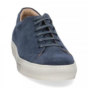 Griffi's sneaker 732 camoscio blu-5