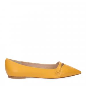 Micina ballerina A5891SF pelle gialla-2