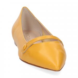 Micina ballerina A5891SF pelle gialla-3