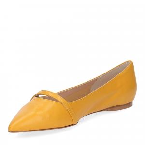 Micina ballerina A5891SF pelle gialla-4