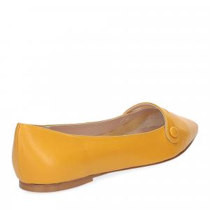 Micina ballerina A5891SF pelle gialla-5