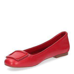 Il Laccio ballerina 18107 fibbia pelle rossa-4