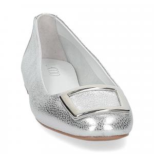 Il Laccio ballerina 18107 fibbia pelle argento-3