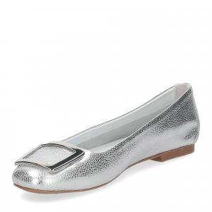 Il Laccio ballerina 18107 fibbia pelle argento-4