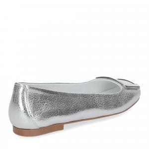 Il Laccio ballerina 18107 fibbia pelle argento-5