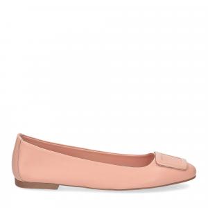 Il Laccio ballerina 18107 fibbia pelle rosa-2