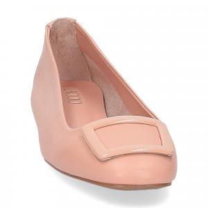 Il Laccio ballerina 18107 fibbia pelle rosa-3
