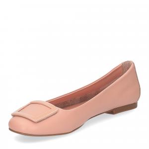 Il Laccio ballerina 18107 fibbia pelle rosa-4