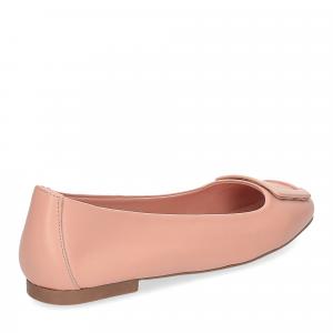 Il Laccio ballerina 18107 fibbia pelle rosa-5