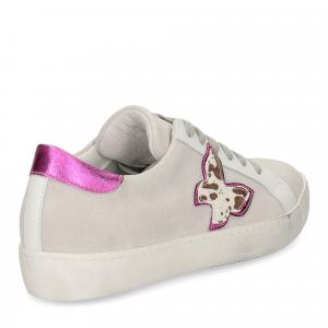 Il laccio sneaker velour-5