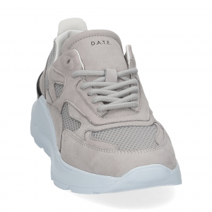D.a.t.e. Fuga sneaker nabuk gray-3
