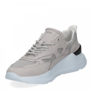 D.a.t.e. Fuga sneaker nabuk gray-4