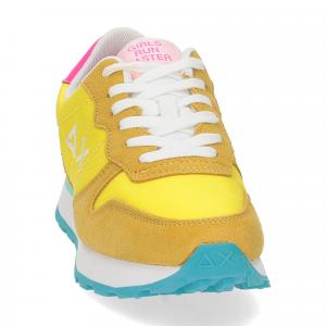 SUN68 sneaker Ally solid giallo-3