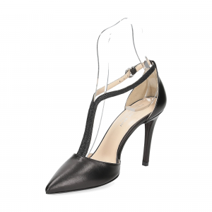 Anna De Bray sandaliera nera-4