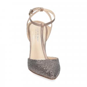 Anna de Bray sandaliera lurex bronzo-2
