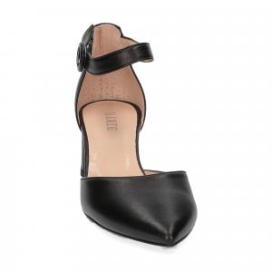 Il Laccio sandaliera pelle nera-1