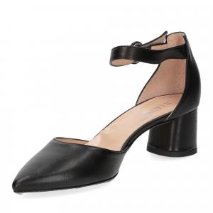 Il Laccio sandaliera pelle nera-4